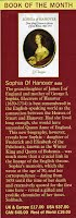 Majesty Magazine review of Sophia of Hanover: Winter Princess by J.N. Duggan