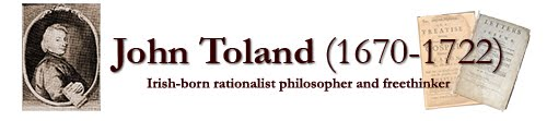 John Toland (1670-1722) Centenaries Web Project